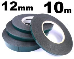 Indasa 12mm Double Sided Moulding Tape, 10m