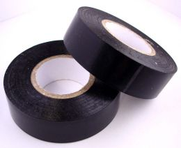 Black Insulation Tape, 19mm Wide, 20m Roll