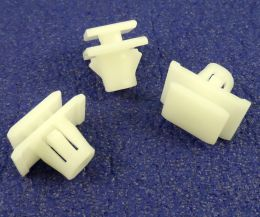 Honda Exterior Body Moulding Clips for Protective Lower Door Moulding Trims- 75315-S9A-004