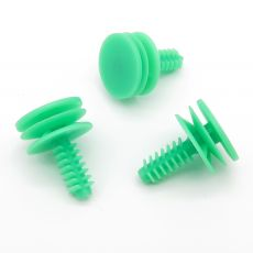 Green Interior Trim Panel Moulding Clips, Fiat 46776091