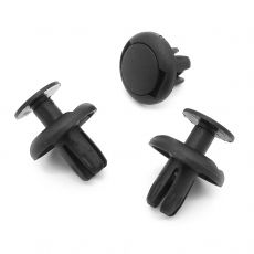 8mm Push Fit Plastic Rivet, Boot Lining Clips for BMW 07147401727