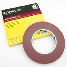 Indasa Double Sided Acrylic Fixing Tape, 9mm x 10m