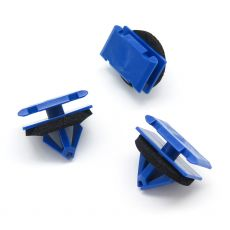 Blue Trim Moulding & Arch Flare Clips, Vauxhall 11548152