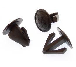Black Plastic Blanking Plugs for Dashboards & Interior Trim For 10-16mm Hole