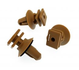 BMW Interior Plastic Clips for Trims on Sill & Door Entrance- Beige Clips
