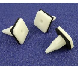 Mitsubishi Plastic Trim Clip- For Sill Mouldings, Side Skirts, Rocker Covers- MB361578