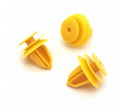 Trim Panel Mounting Clip, Yellow, Nissan 84953JA00A