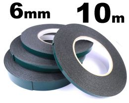 Indasa 6mm Double Sided Moulding Tape, 10m