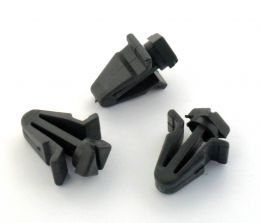 Plastic Trim Clips- For Radiator Grilles, Front Grill clips on some Nissans- 0155303831