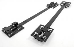 Vauxhall Sideskirt Clips- Plastic Fastener Attachment for Sill Mouldings- 9174457