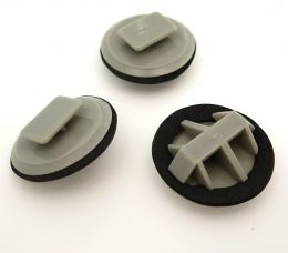 Plastic Trim Clips for Mazda Side Skirts Sill Moulding- BP4L51SJ3