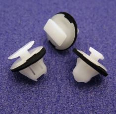 Wheel Arch Surround Trim Clips, Garnish Clips- Nissan 76882-JG10A
