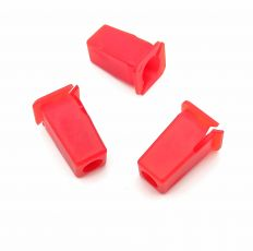 Red Plastic Locknut / Srrew Grommet, Land Rover CZA4705L