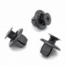 Quick Release Plastic Trim Clip Rivet, Mitsubishi MR971764