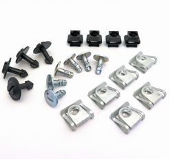 Fastener & Clip Set for Audi Engine Undertray, Shields & Access Panel