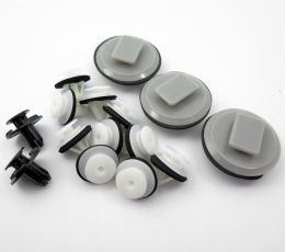 Set of Plastic Trim Clips / Fittings for Mazda 3 Side Skirts (BL 2008-13)