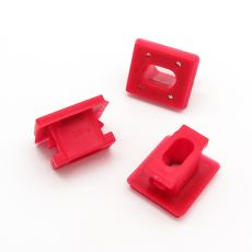 BMW Dashboard Trim Strip Grommet, Red Clips for Dash Inserts- 51458266814
